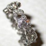 bands - Custom Diamond Flower