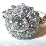 ring - Diamond Cluster