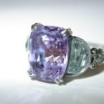 ring - Lavender Sapphire