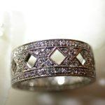 bands - Platinum Diamond X-pattern