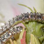 bracelet - Emerald Cut Diamond Line