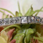 bracelet - French Cut Diamond Line
