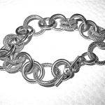 bracelet - Hand-Textured Link