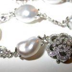 bracelet - Keshi Pearl and Diamond
