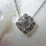 necklace - 5-Bezel