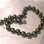 necklace - Black South Sea Pearls