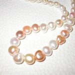 necklace - Freshwater Pearls Natural Colored Large Baroque