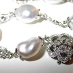 necklace - Keshi Pearl and Diamond
