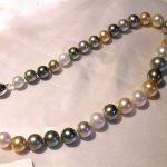 necklace - Multi-Color South Sea Pearls