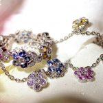 necklace - Multi-Sapphire