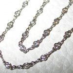 necklace - Platinum Diamond Bezel