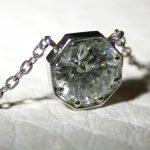 necklace - Round Brilliant Diamond