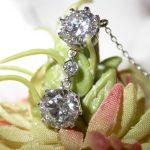 pendant - Diamond Drop Vintage Style