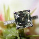 ring - 3-Carat Asscher Cut