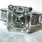 ring - 3-Carat Asscher Deco