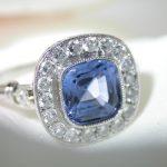ring - Cushion Cut Sapphire