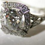 ring - Vintage Old European Cut